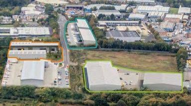 Thumbnail Retail premises to let in Units 1-12 - Trade Units, Vulcan Way, Ferndown Industrial Estate, Wimborne