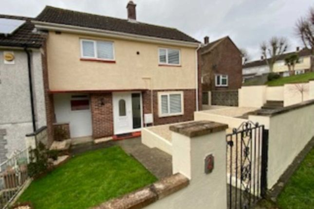Thumbnail 3 bed end terrace house to rent in Pembrey Walk, Ernesettle
