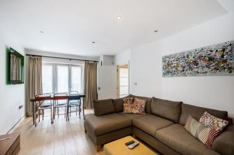 Thumbnail Flat to rent in Alpha Road, London