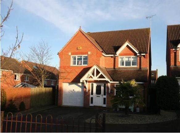 Thumbnail Detached house to rent in Embleton Way, Buckingham