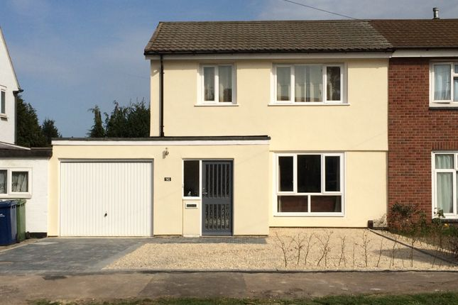 Thumbnail Semi-detached house to rent in Foster Road, Trumpington
