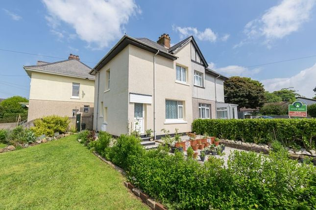 Thumbnail Semi-detached house for sale in The Glebe, Camborne