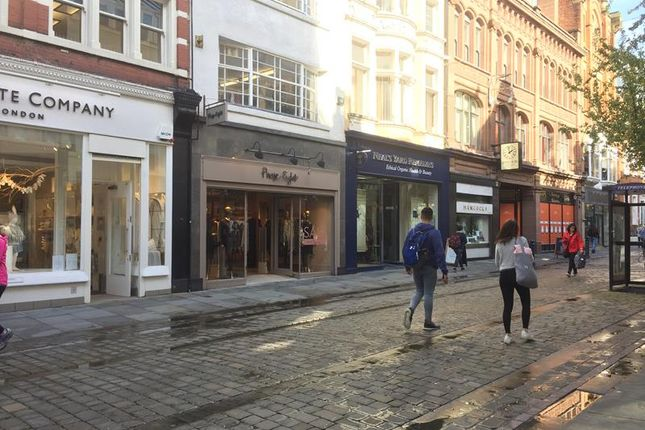 Thumbnail Retail premises to let in 25 King Street, Manchester