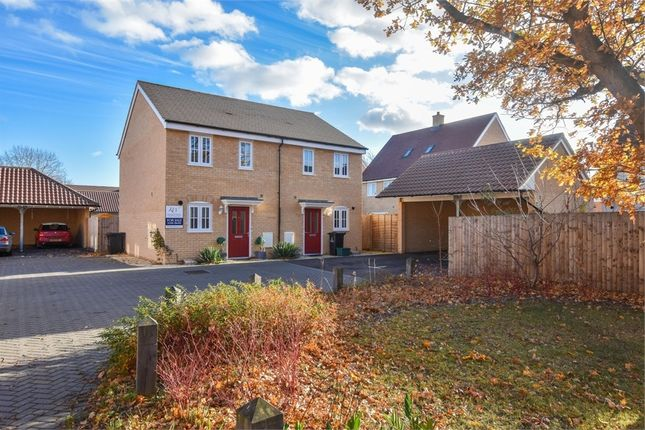 Thumbnail Semi-detached house for sale in Cinder Street, Colchester, Essex