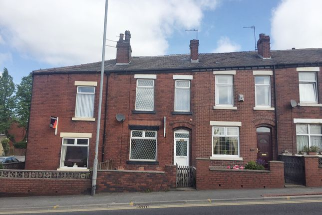 Thumbnail Terraced house to rent in Milnrow Road, Rochdale