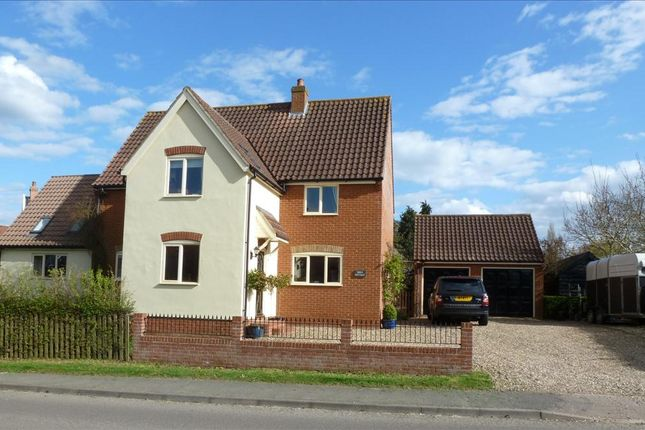 Thumbnail Detached house for sale in The Butts, Kenninghall, Norwich