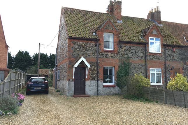 Thumbnail Cottage for sale in Low Road, Grimston, King's Lynn