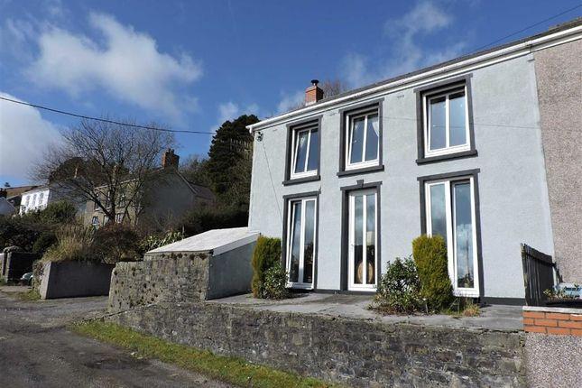 Thumbnail Semi-detached house for sale in Rhyd Y Gwin, Craig-Cefn-Parc, Swansea