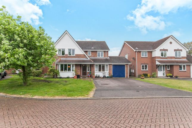 Thumbnail Detached house for sale in Belgrave Close, Ipswich