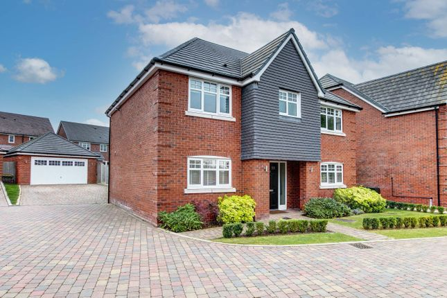 4 bed detached house for sale in Puddlestone Close, Astwood Bank, Redditch B96
