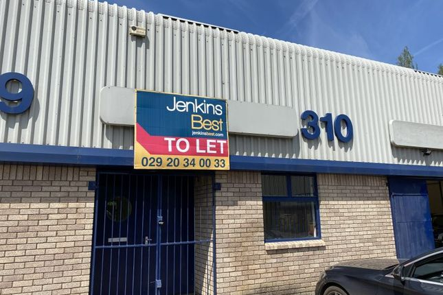Thumbnail Industrial to let in Unit 310 Springvale Industrial Estate, Cwmbran