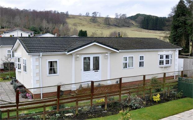 Thumbnail Mobile/park home for sale in Blenkinsopp Castle, Greenhead, Brampton, Cumbria.