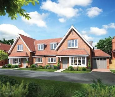 Thumbnail Semi-detached house for sale in Claremount Gardens, Epsom