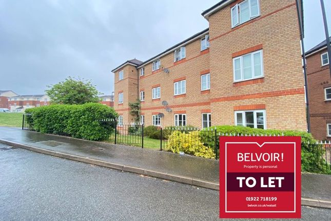 2 bed flat to rent in Ashdown Grove, Walsall WS2