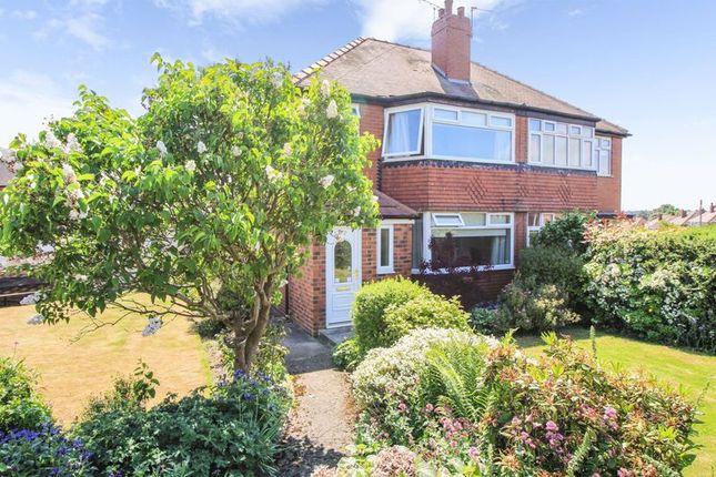 Thumbnail Semi-detached house for sale in Manston Drive, Crossgates, Leeds