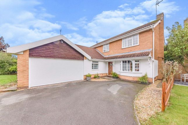 Thumbnail Detached house for sale in Braemar Close, Grantham