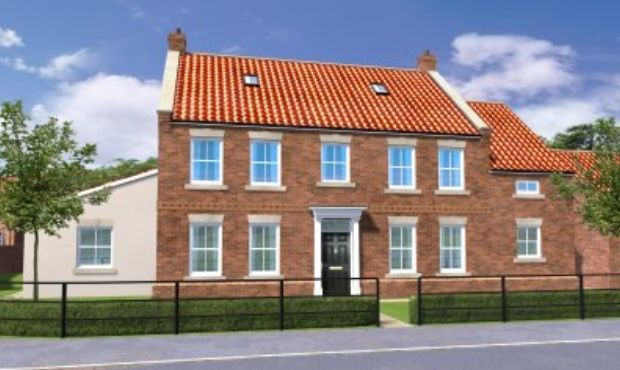 Thumbnail Detached house for sale in Boothgate, Howden, Goole
