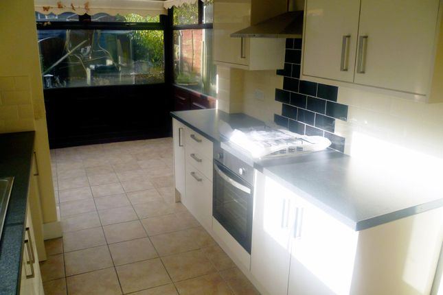 Thumbnail End terrace house to rent in Higher Croft, Eccles, Manchester