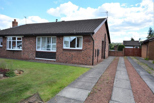 Thumbnail Semi-detached bungalow to rent in Shawbrow View, Bishop Auckland