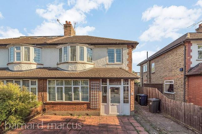 Thumbnail Property to rent in Gunnersbury Crescent, London