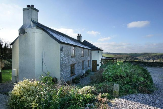 Thumbnail Detached house for sale in Near Downderry, Downderry, Cornwall