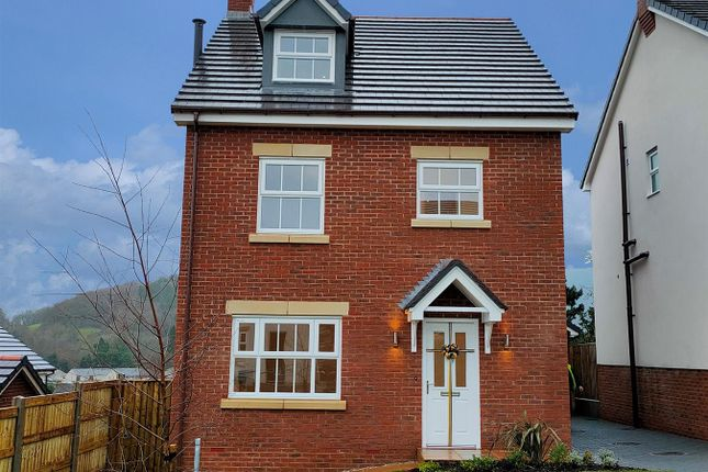 Thumbnail Detached house for sale in Plot 65, Maes Helyg, Vicarage Road, Llangollen