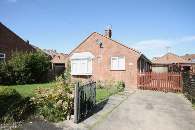 Thumbnail Detached bungalow for sale in Constable Road, Hunmanby, Filey