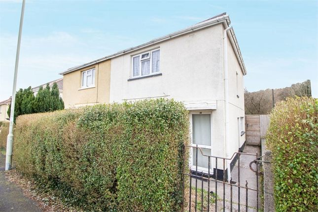 Thumbnail Semi-detached house for sale in Trenant, Hirwaun, Aberdare, Mid Glamorgan