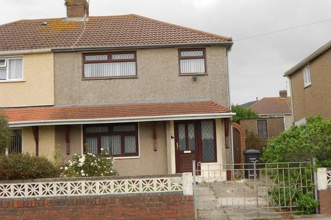 Thumbnail Semi-detached house to rent in Marine Drive, Port Talbot, Neath Port Talbot.