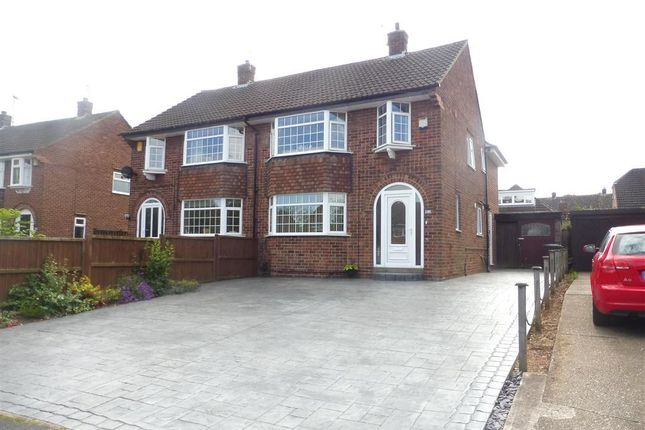 Thumbnail Semi-detached house for sale in Blenheim Drive, Allestree, Derby