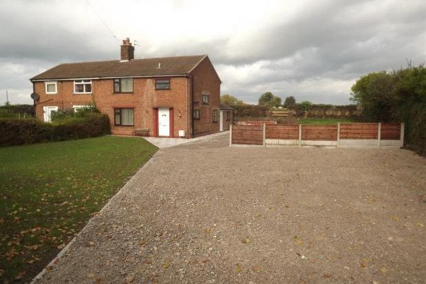 Thumbnail Semi-detached house to rent in Weaverham, Northwich