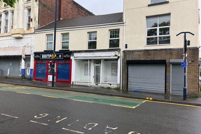 Retail premises to let in Cradock Street, Swansea