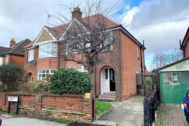Thumbnail Semi-detached house for sale in Portswood Avenue, Portswood, Southampton
