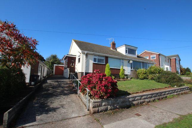 Thumbnail Semi-detached bungalow to rent in Drake Avenue, Torquay