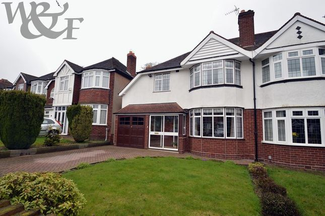 Thumbnail Semi-detached house for sale in Greenside Road, Erdington, Birmingham