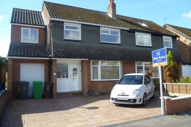 Thumbnail Semi-detached house to rent in Bankside Road, Didsbury, Manchester