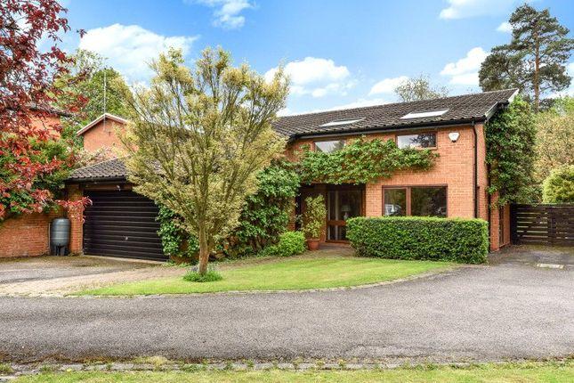 Thumbnail Detached house for sale in Coleridge Avenue, Yateley, Hampshire