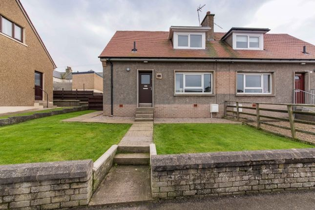 Thumbnail Semi-detached house for sale in Fountain Park, Banff, Aberdeenshire