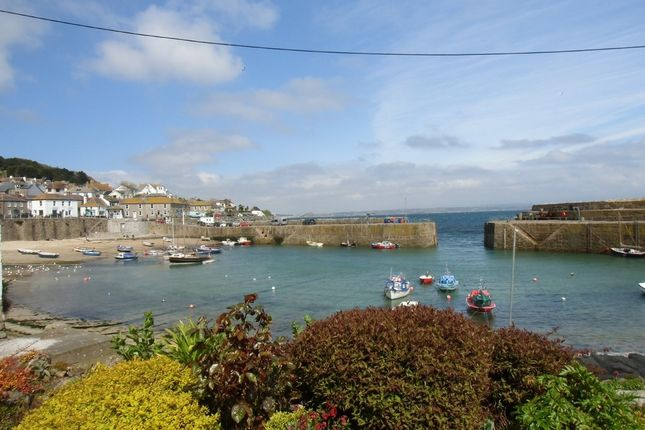 Thumbnail Terraced house for sale in Wesley Square, Mousehole, Penzance