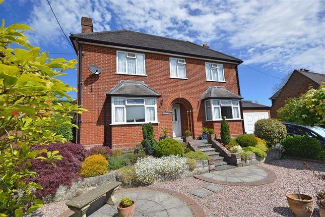 Thumbnail Detached house for sale in Brynawel, Bryn Gardens, Bryn Gardens, Newtown, Powys