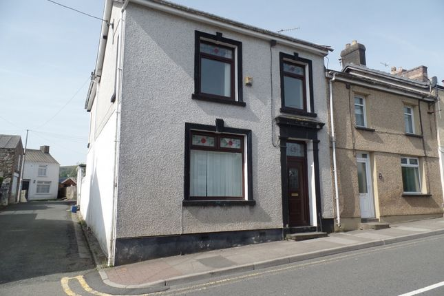 Thumbnail End terrace house to rent in High Street, Cefn Coed