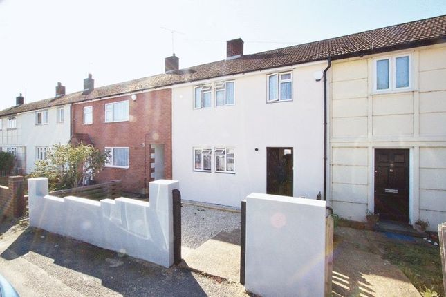 Thumbnail Terraced house to rent in Stapleford Gardens, Collier Row, Romford