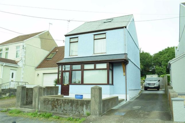 Thumbnail Detached house for sale in Fforestfach, Swansea