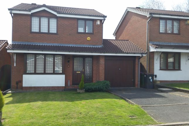 Thumbnail Detached house to rent in Ullswater Close, Priorslee, Telford