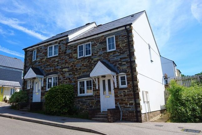 Thumbnail Semi-detached house to rent in Helman Tor View, Bodmin