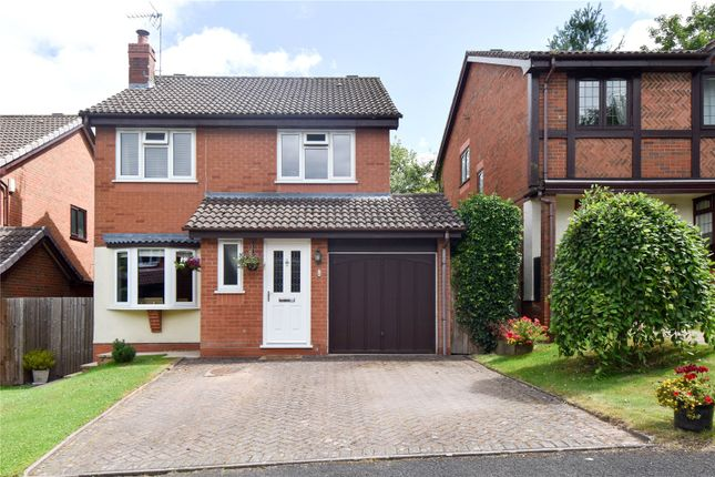 Thumbnail Detached house for sale in Summerhouse Close, Callow Hill, Redditch