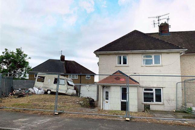 Thumbnail End terrace house for sale in Brynsierfel, Llanelli