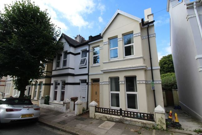 Thumbnail Semi-detached house to rent in Rectory Road, The Rectory, Stoke, Plymouth