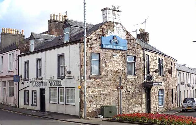Thumbnail Hotel/guest house for sale in 49-51 Cassillis Road, Maybole