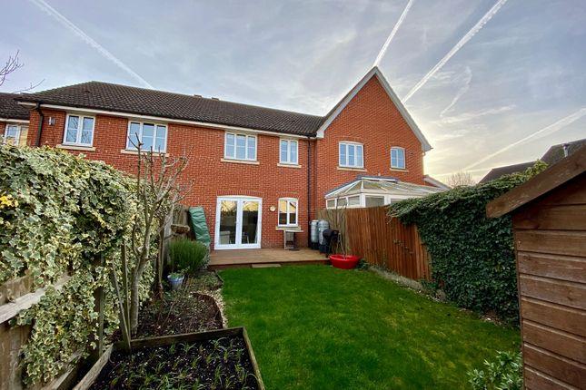 Thumbnail Terraced house for sale in Samian Close, Highfields Caldecote, Cambridge
